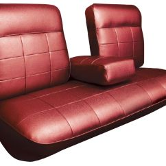 Recovering Chair Cushions Vinyl Sears Lounge 1963 Cadillac Seat Upholstery Deville Front Split