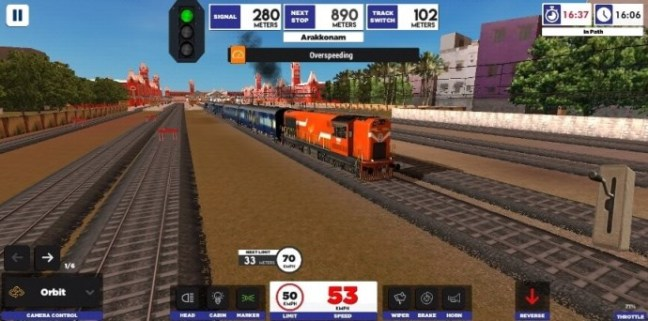 rail android game