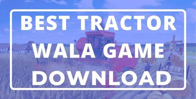 tractor wala game
