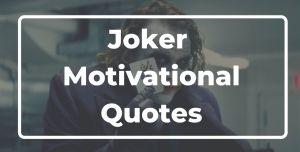 Joker Motivational Quotes hindi