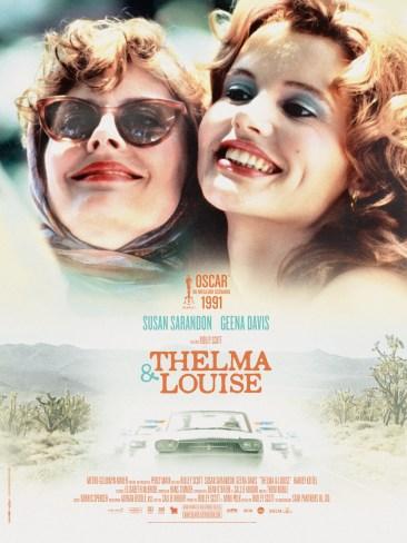 """Affiche du film """"Thelma et Louise"""""""