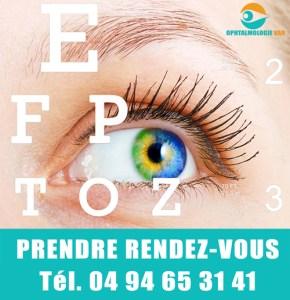 Prendre rendez-vous ophtalmologue var 83