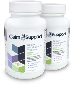 Calm Support Review – Eases Opiate Withdrawal Symptoms
