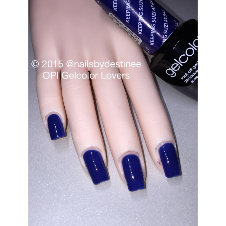 The Bohemians Collection Opi Gelcolor Lovers