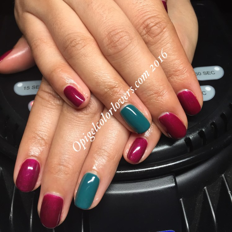 Manicure Monday: Kiss Me Or Elf! & Amazon… Amazoff – OPI GelColor Lovers