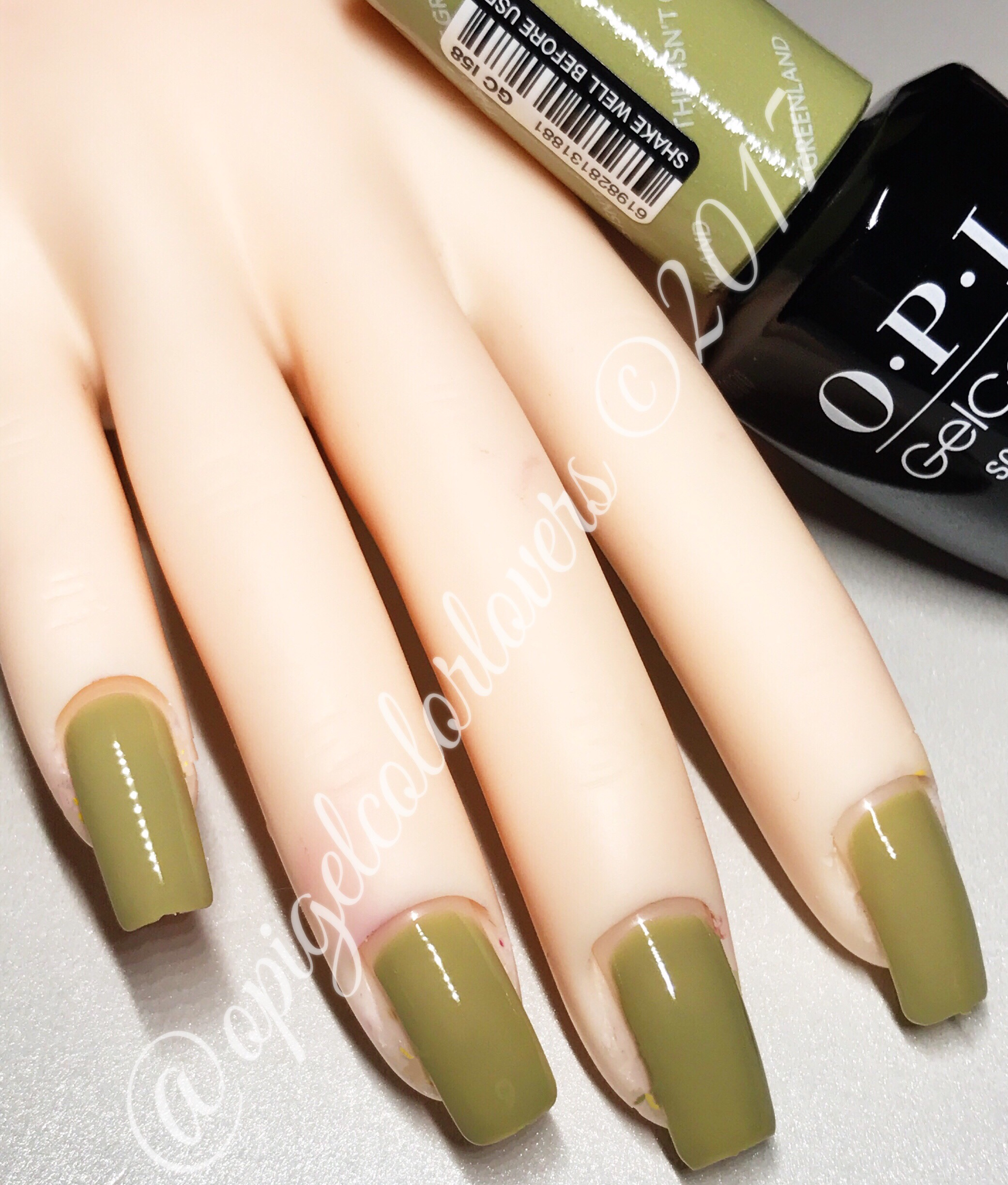 Iceland – Fall/Winter 2017 – OPI GelColor Lovers