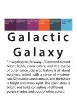 Galactic colour moodboard