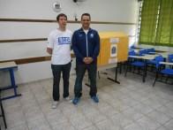 Diretor Lázaro com o Conselheiro do AGRUPAH Andre Mancuso