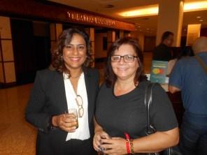 Isabel (Agruparh) com Eliete (Prefeitura Atibaia)