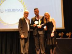 Marcondes premia Emanoel da Helibrás