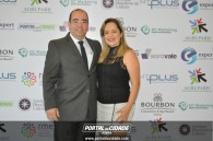 Adriano Carvalho com a esposa Andrea