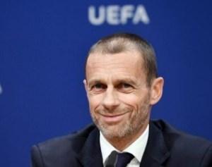 Aleksander Ceferin, patron de l'UEFA.