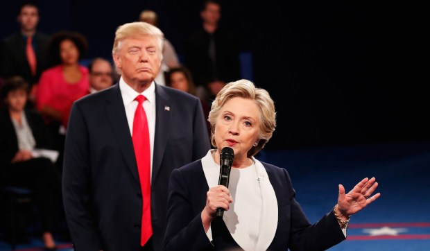 Donald Trump en Hillary Clinton