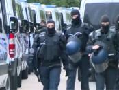 Duitse politie bij actie asielzoekerscentrum Ellwangen