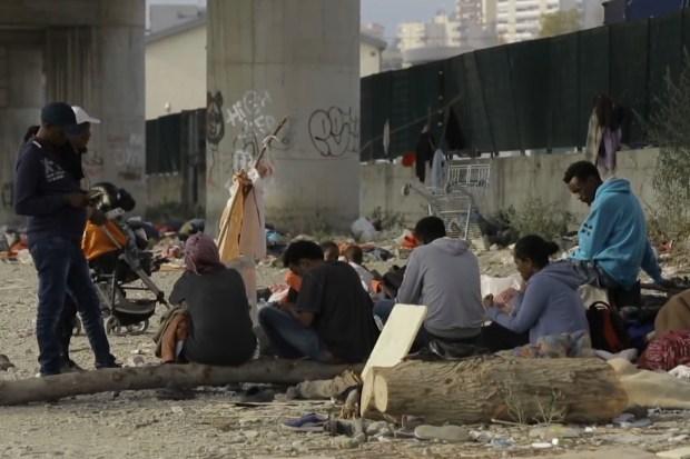 Afrikaanse asielzoekers in Italië