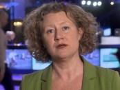 Judith Sargentini, lid EP voor GroenLinks en rapporteur over Hongarije.