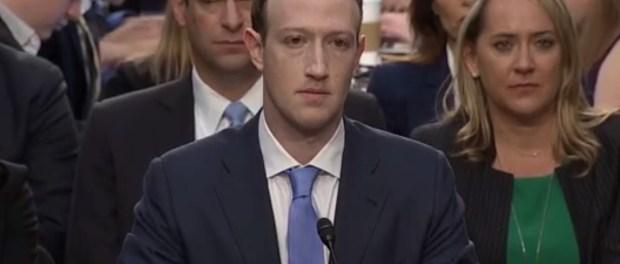 Facebook-topman Mark Zuckerberg getuigt voor het Amerikaanse Congres (10 april 2018)