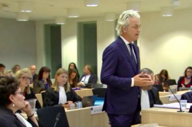 Geert Wilders Gerechtshof Den Haag