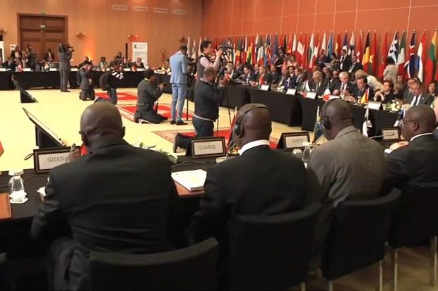 Vergadering Groep Rabat Proces te Marrakesh, 2 mei 2018