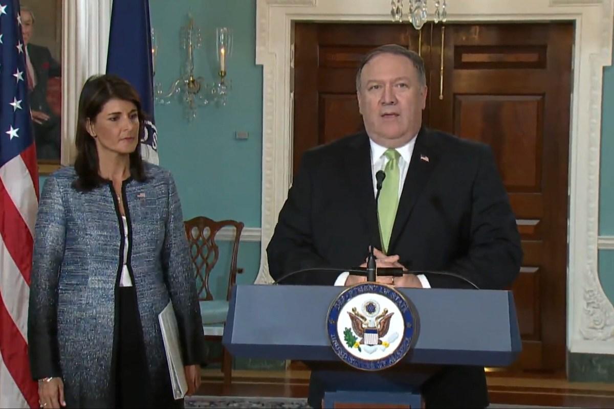 VIDEO: VS verlaten de VN-Mensenrechtenraad