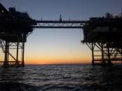 Gaswinningsplatform Noordzee