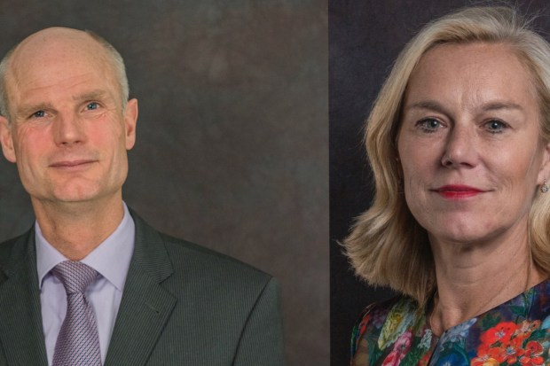 Minister Stef Blok van Buitenlandse Zaken en minister Sigrid Kaag voor Buitenlandse Handel en Ontwikkelingssamenwerking