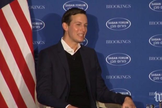 Jared Kushner, centrale figuur in Trump's Midden-Oosten-team