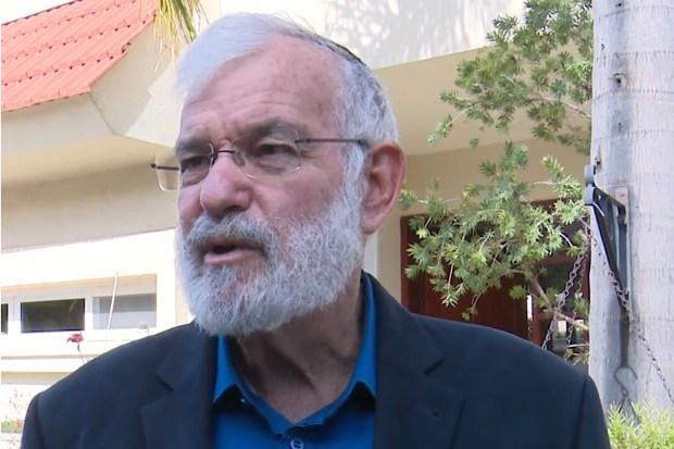 De Israëlische voormalige top-strategische veiligheidsadviseur Yaakov Amidror