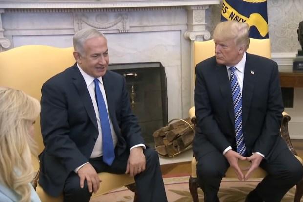 Overleg Trump-Netanyahu op het Witte Huis (6 maart 2018)