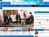 de door Iran gefinancierde Libanese pro-Hezbollah-website Al Manar TV