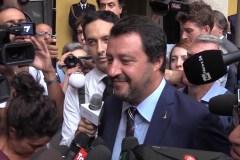 Matteo Salvini, minister van Binnenlandse Zaken van Italië.