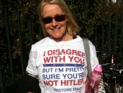 T-shirt invoking Godwin's Law