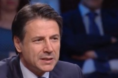 De Italiaanse premier Giuseppe Conte