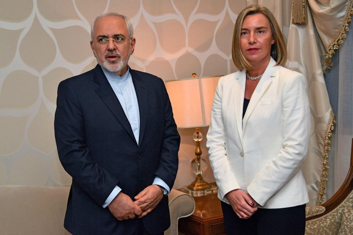 EU gaat schaamteloos door met paaien Iraanse mollahs