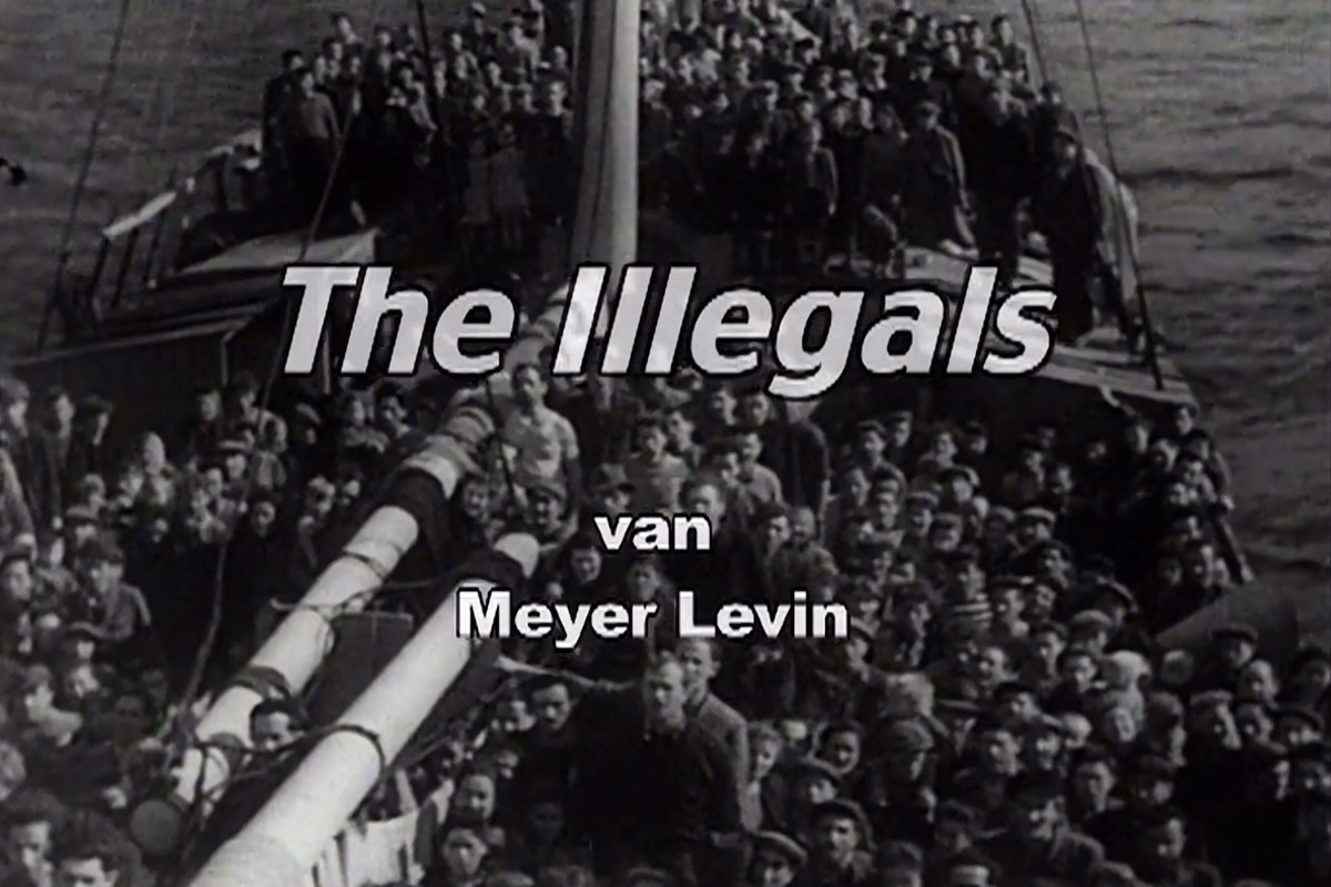 "Filmbespreking: Meyer Levin en ""The Illegals"""