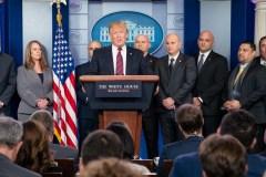 President Trump op persconferentie Witte Huis (8 januari 2019)