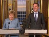 Angela Merkel op bezoek bij Mark Rutte (10 oktober 2018)