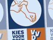 VVD Verkiezingsposter