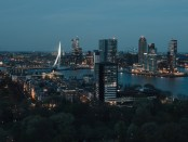 Stadsgezicht Rotterdam