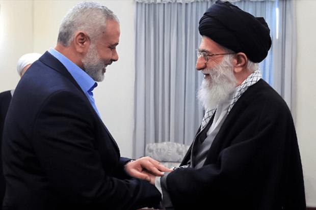 Titelfoto bij artikel Iraans regime financiert Palestijns terreur tegen Israël Katiana kayvantash opiniez