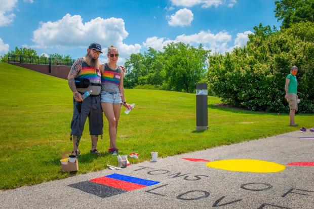 Woke woensdag diversiteit inclusiviteit anti-racisme regenboog rainbow