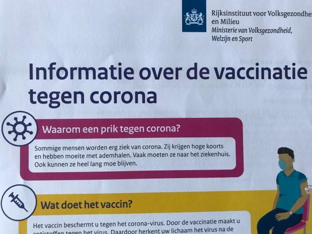Jan gajentaan, coronabeleid, vaccinatie, corona, Covid19: pleidooi voor een pragmatische aanpak, opiniez