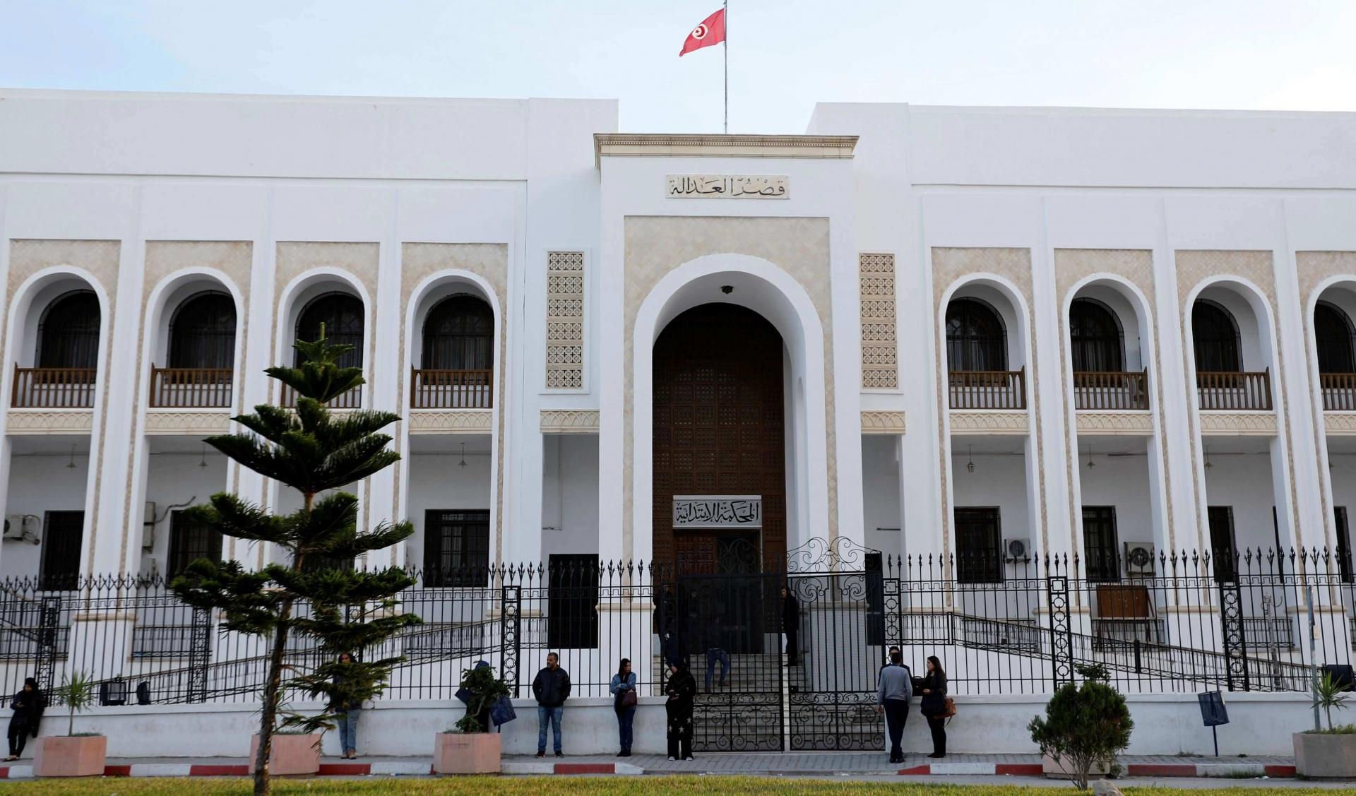 Palace of Justice, Tunis (source: Twitter)