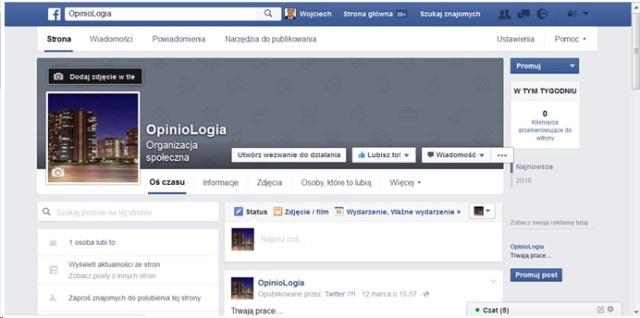 OpinioLogia naFacebooku
