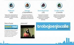 Página web trabajoenlacalle.cl