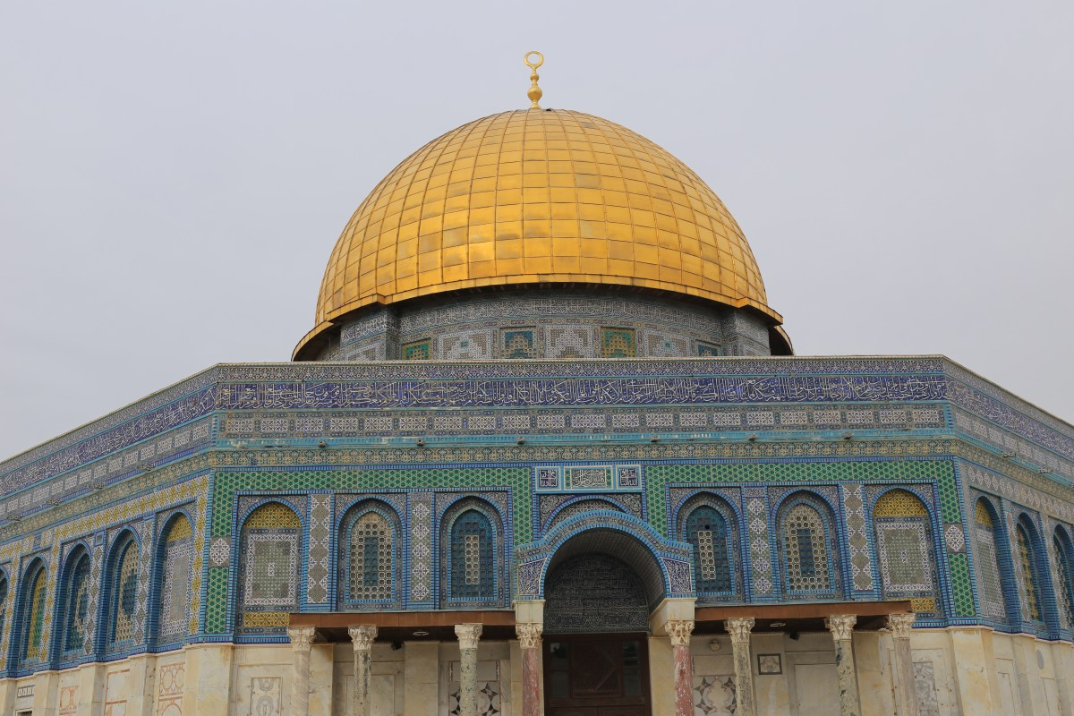 Dome of the Rock, Al-Aqsa - the powder keg of the Middle East, Jerusalem: Holy city for three religions
