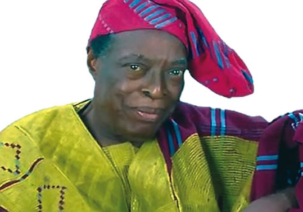 Veteran actor Adebayo Faleti died after morning prayers - son reveals
