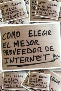 Proveedores de internet, como elegir los mejores