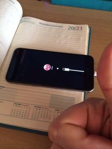 Mi Iphone de amago portabilidad