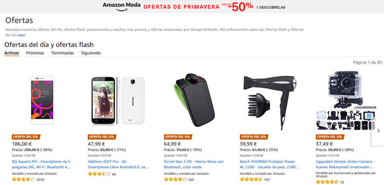 ofertas flash amazon premium